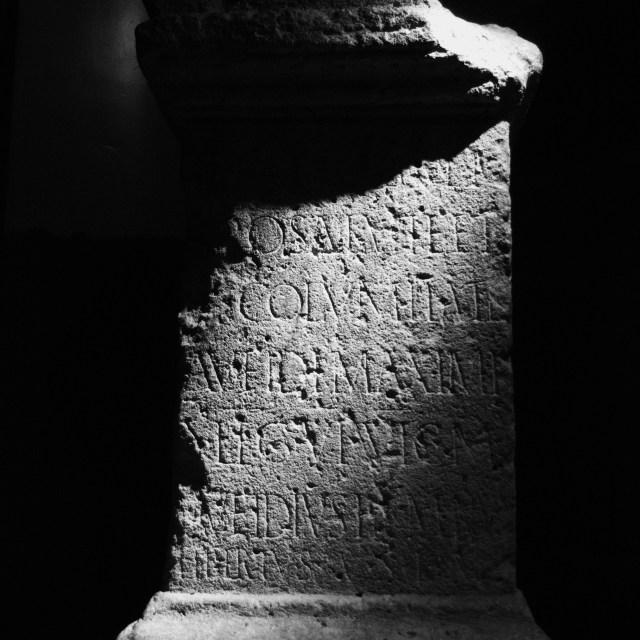 """""""Roman Plinth"""" stock image"""