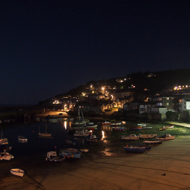 """""""Mousehole Harbour, Cornwall"""" stock image"""