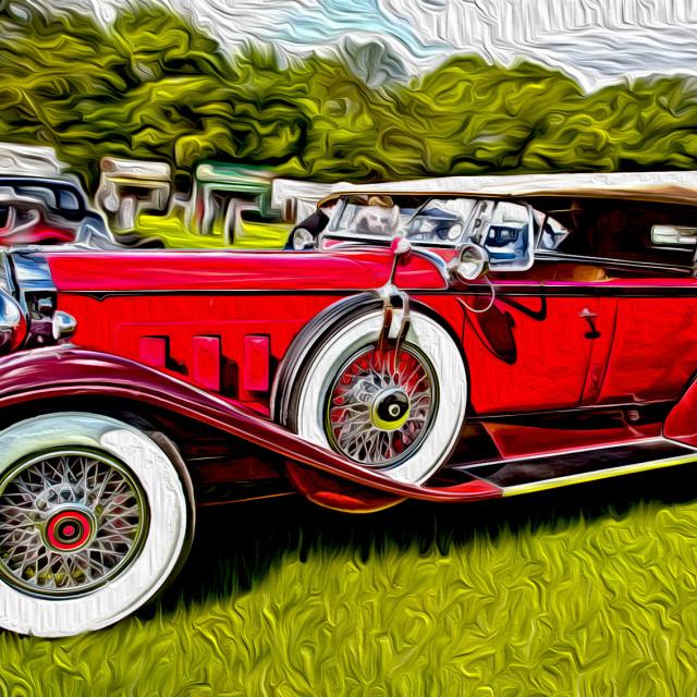 """classic car"" stock image"