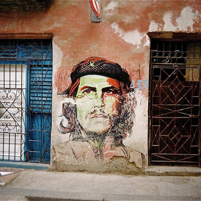 """""""Cuba Che"""" stock image"""