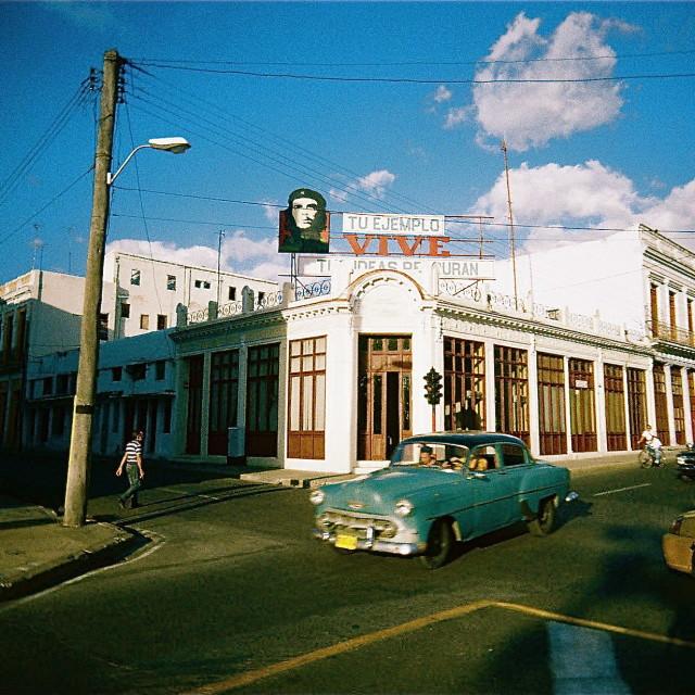 """Cuban Corner"" stock image"