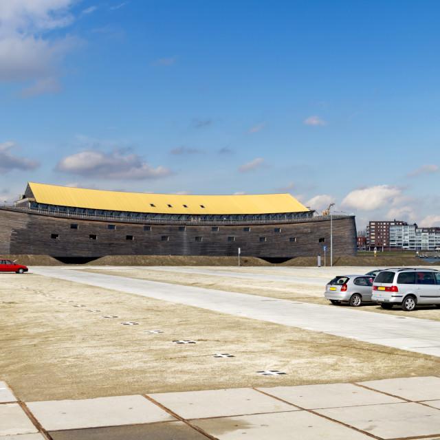 """Replica of Noah's Ark"" stock image"