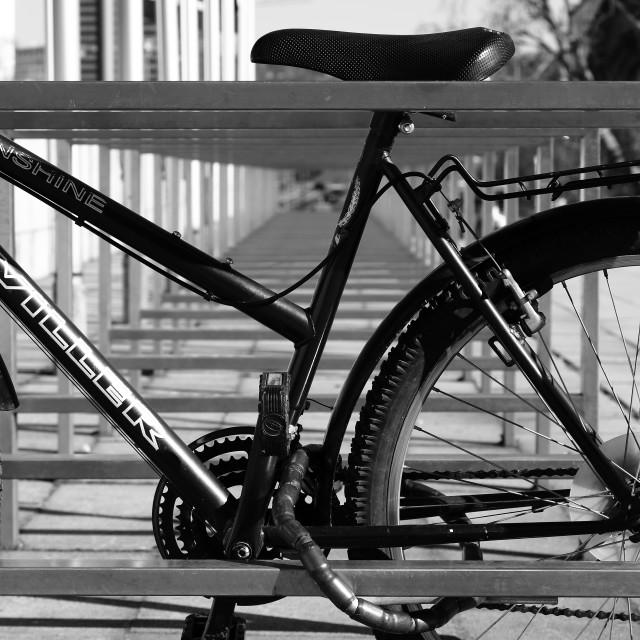 """Bicycle"" stock image"