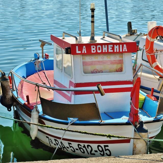 """La Bohemia"" stock image"