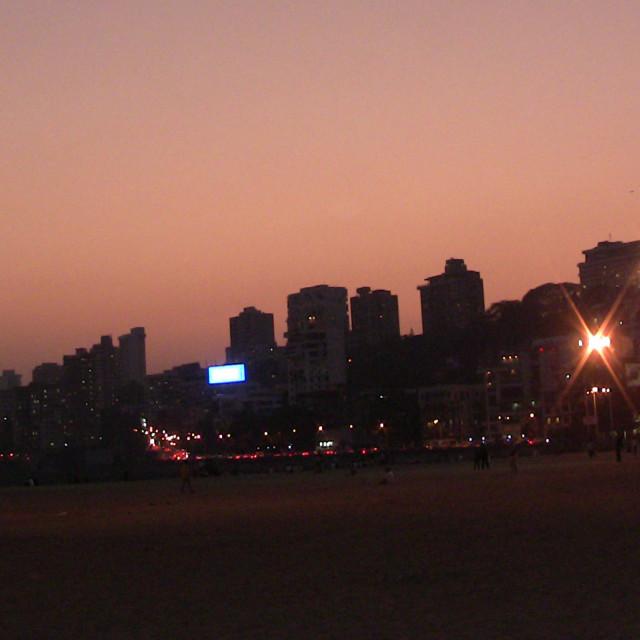 """Mumbai at Dusk"" stock image"