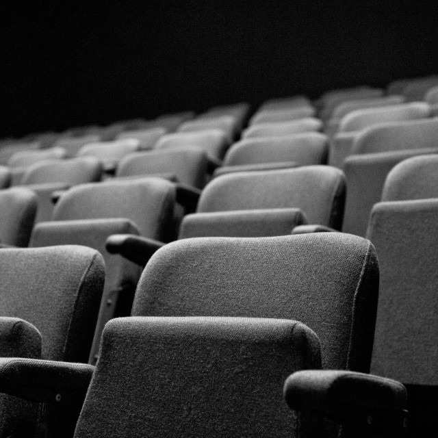 """The Auditorium"" stock image"