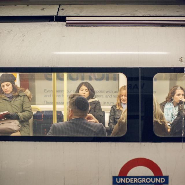 """Londoners"" stock image"