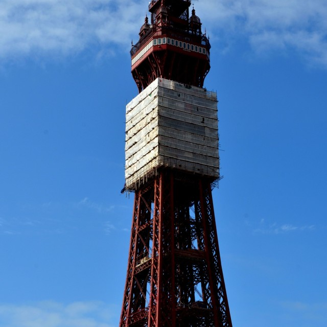 """Blackpool Tower"" stock image"