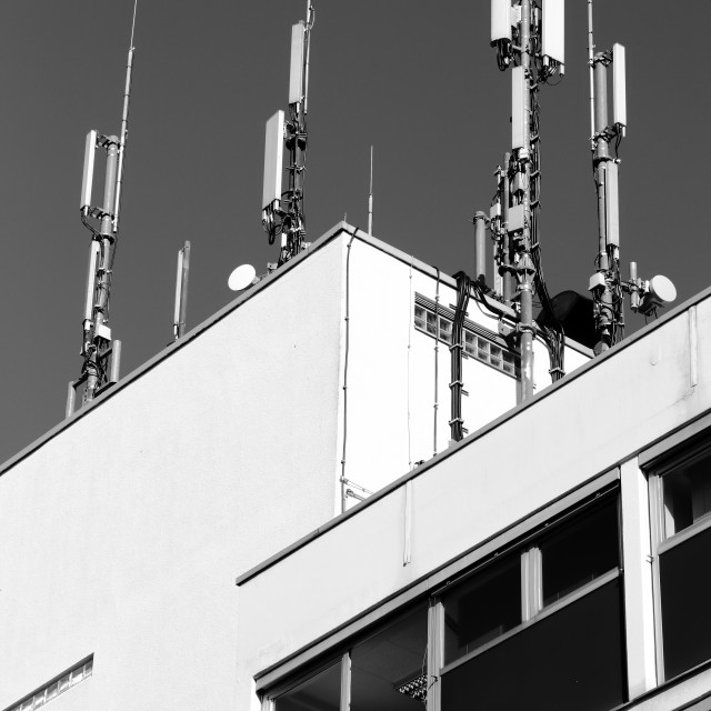 """Cell site"" stock image"