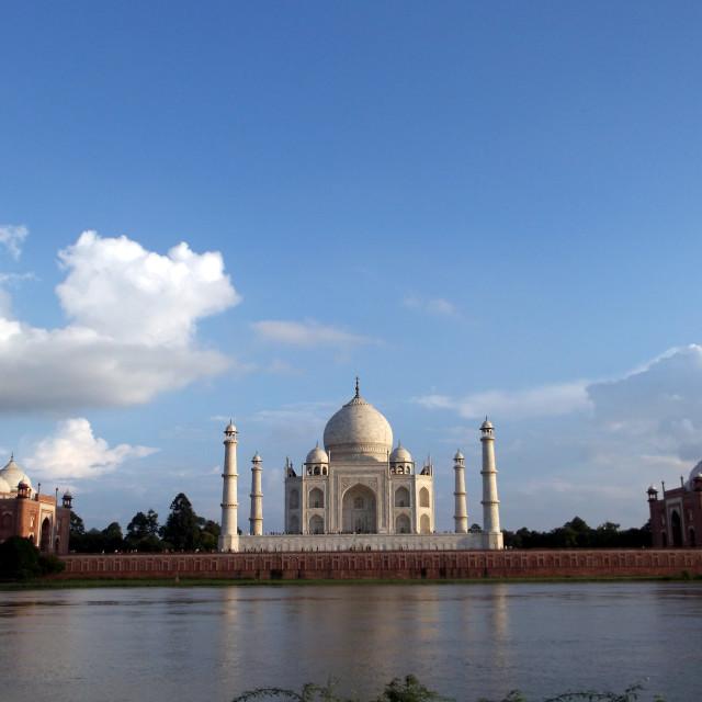 """Taj Mahal 1"" stock image"