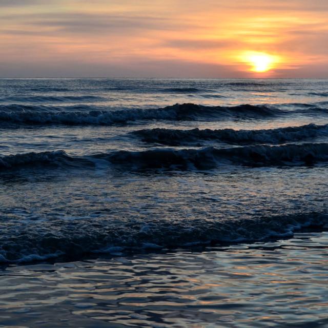 """Sunrise Seascape"" stock image"