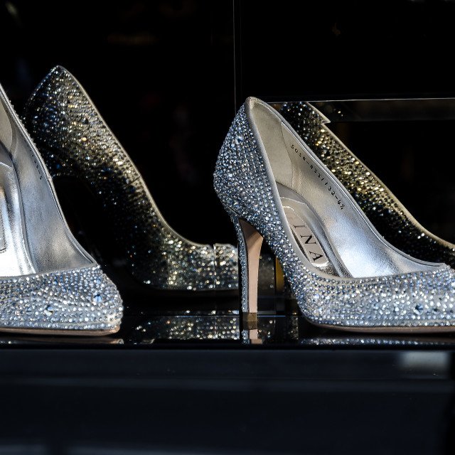 """""""Sparkly Shoes"""" stock image"""