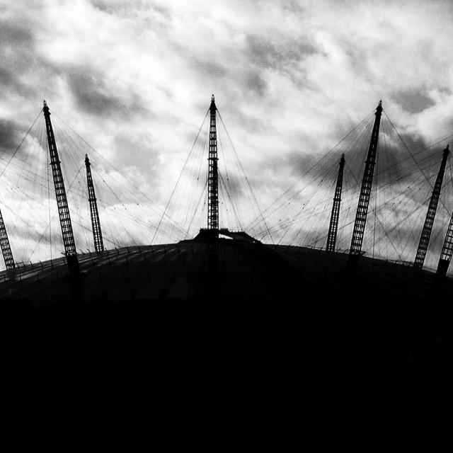 """""""Millenium Dome (02 Arena)"""" stock image"""