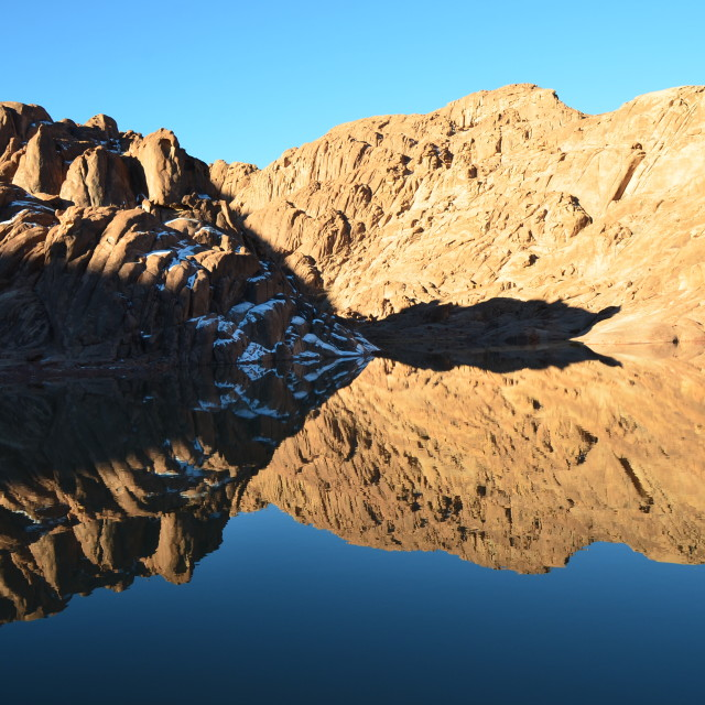 """Sinai Reflection"" stock image"