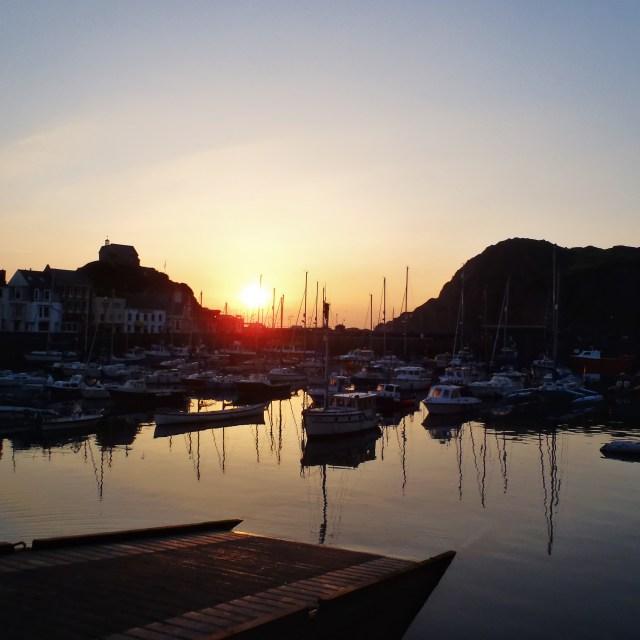 """""""Ilfracombe Sunrise"""" stock image"""