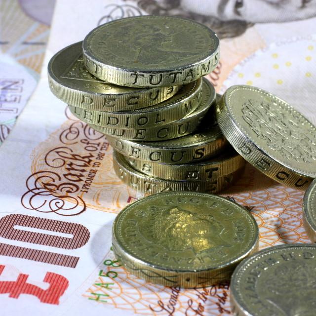 """Money Pile"" stock image"