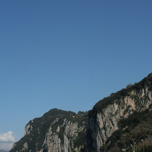 """Capri harbor"" stock image"