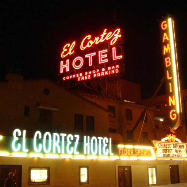 """""""the El Cortez"""" stock image"""
