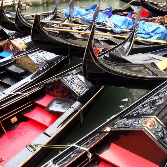 """gondolas"" stock image"