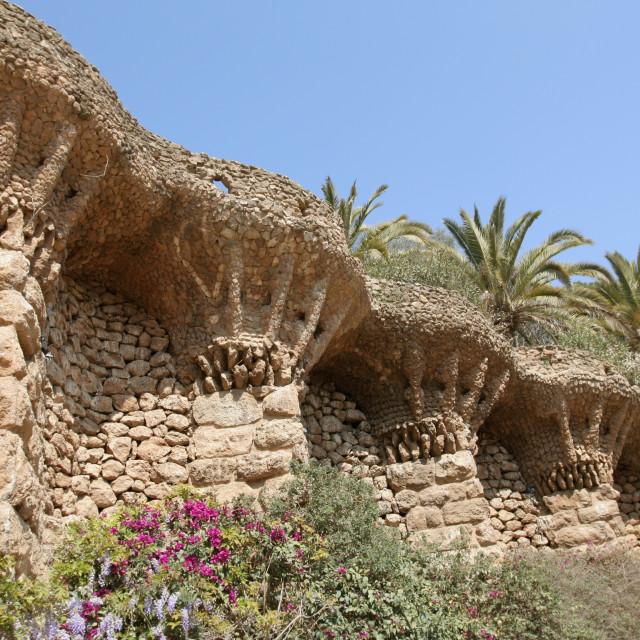"""Gaudi park"" stock image"