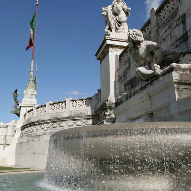 """Roman fountain"" stock image"