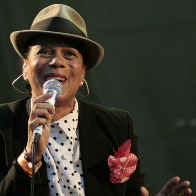 """Pauline Black frmo The Selecter"" stock image"