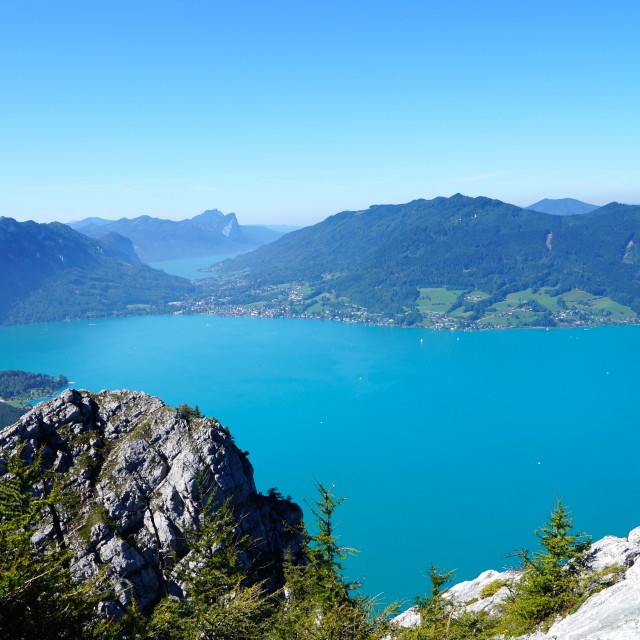 """Attersee"" stock image"