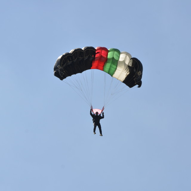 """paratrooper"" stock image"