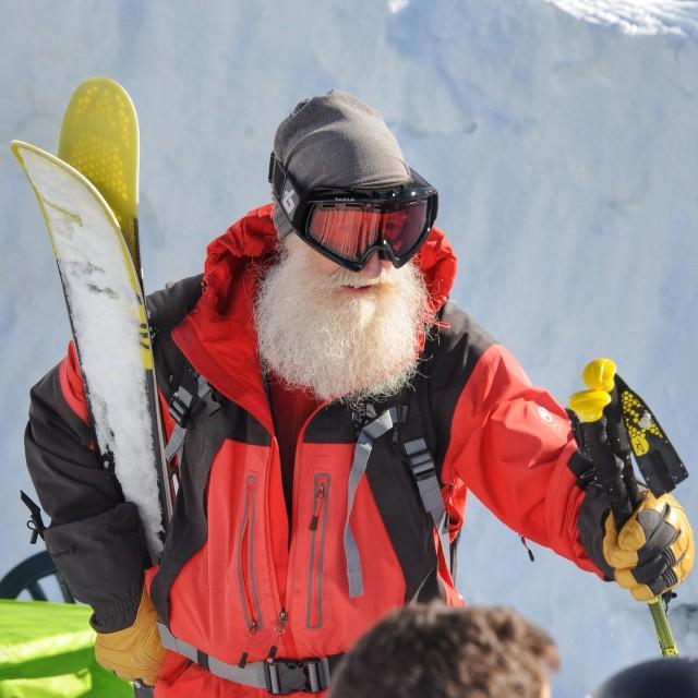 """""""Big cold beard"""" stock image"""