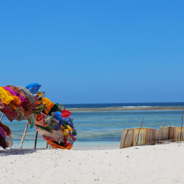 """Diani Beach, Kenya"" stock image"