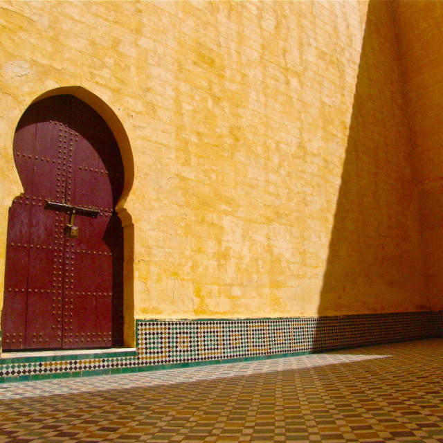 """Meknes, Morocco"" stock image"