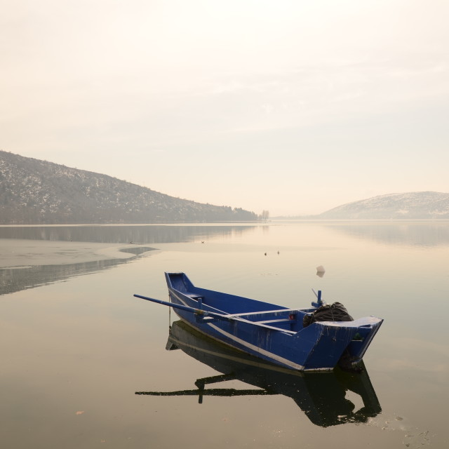 """Kastoria, Greece"" stock image"