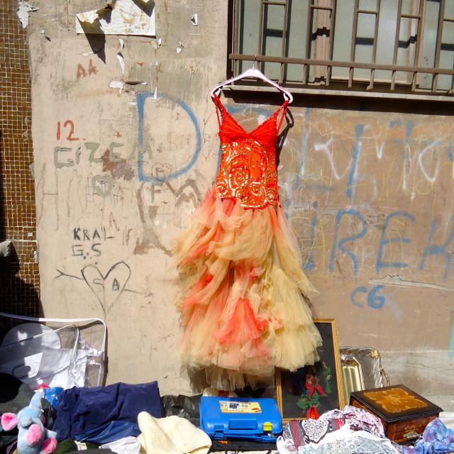 """""""Gypsy Bazaar"""" stock image"""