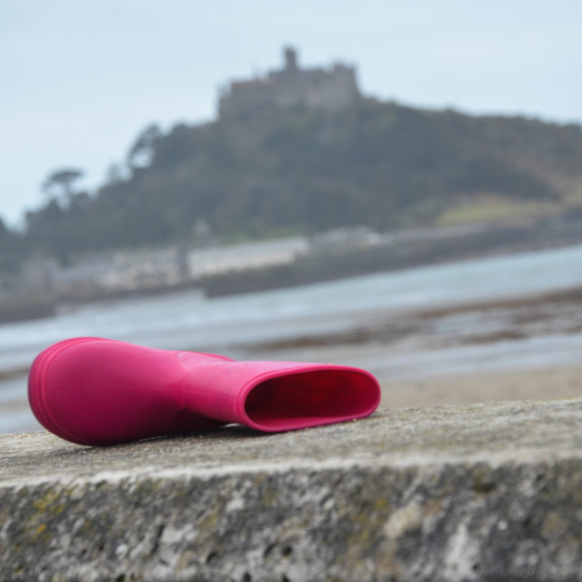 """St Michael's Mount, Boot"" stock image"