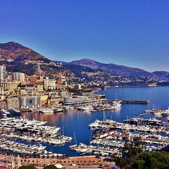 """""""Monaco"""" stock image"""