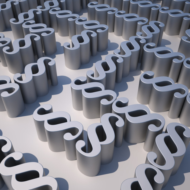 """""""Maze of Paragraphs"""" stock image"""