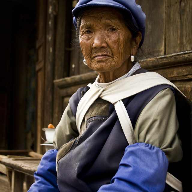 """Baisha, Yunnan Province, China"" stock image"