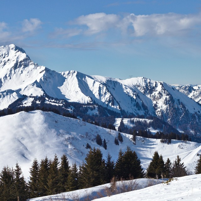 """""""French Alps"""" stock image"""