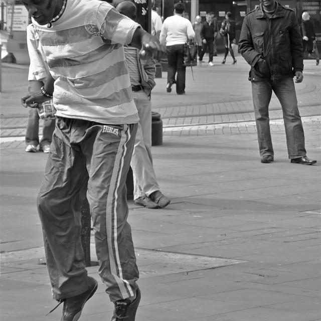 """Street Performer"" stock image"
