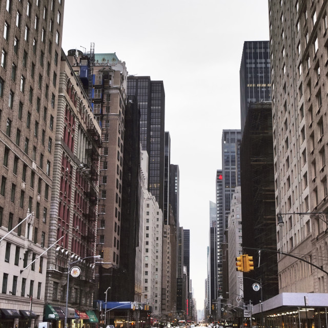 """6th Ave. NYC"" stock image"
