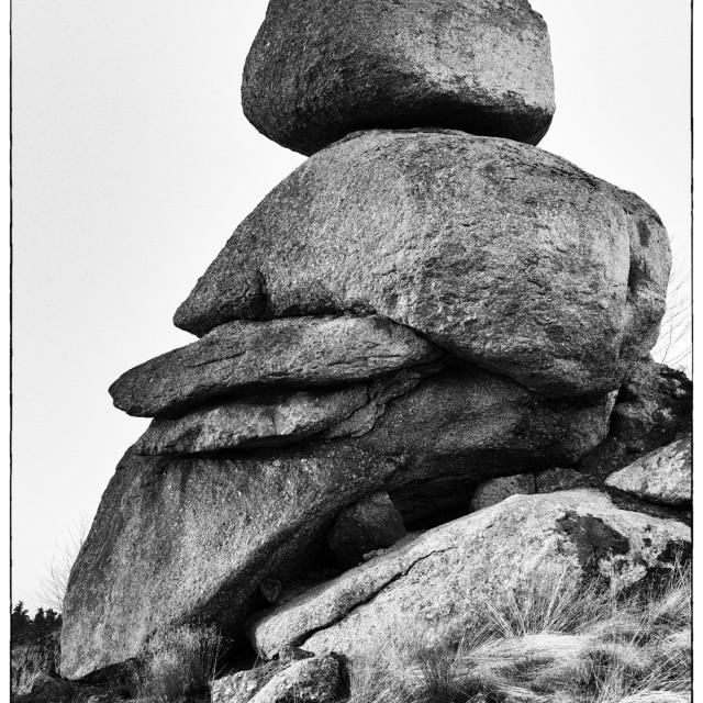 """""""Rocking stone"""" stock image"""