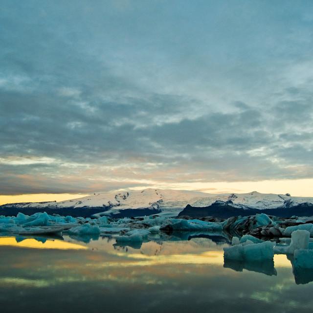 """Jokulsarlon Glacial Lagoon"" stock image"