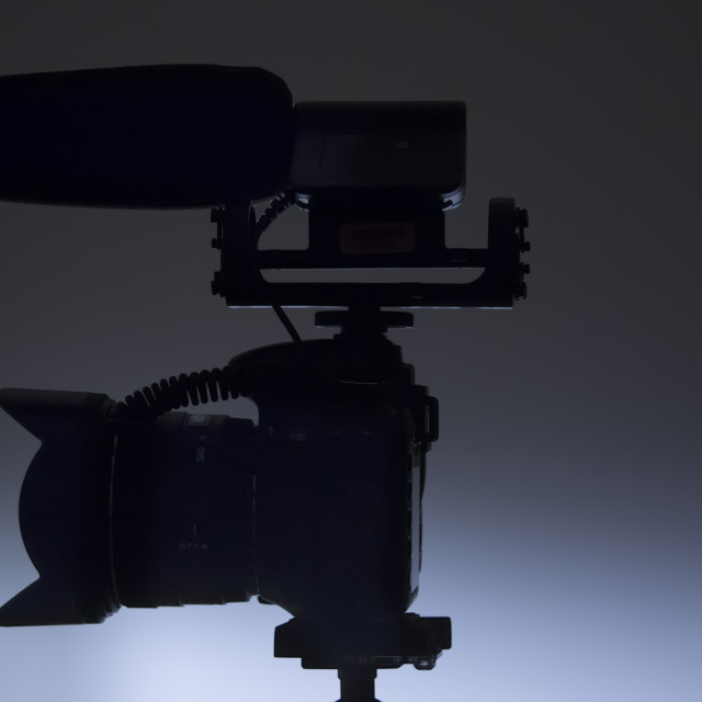 """Video DSLR"" stock image"
