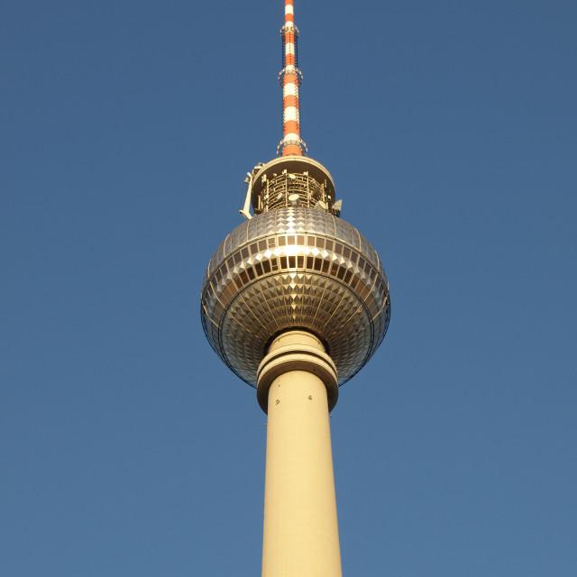 """Berliner Fernsehturm"" stock image"