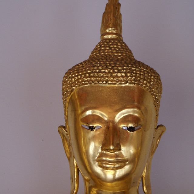 """Golden Statue Thailand Palace"" stock image"