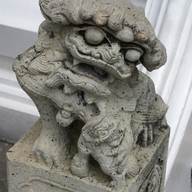 """""""Gargoyle Thailand Palace"""" stock image"""
