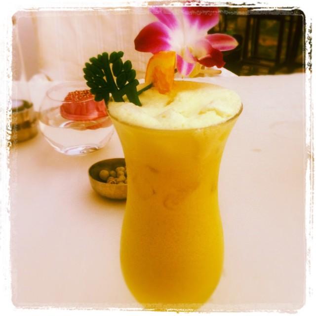 """Pina Colada Cocktail in Thailand"" stock image"