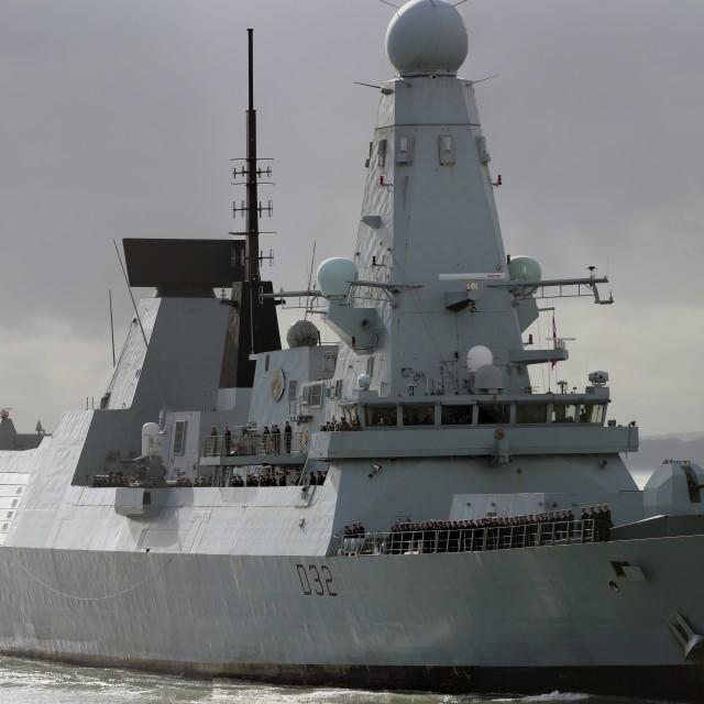 """""""HMS Daring"""" stock image"""