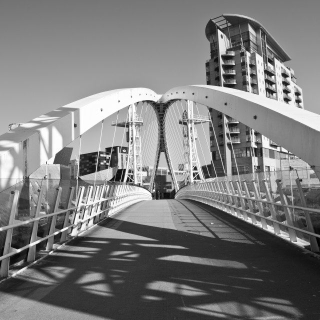 """Lowry Bridge"" stock image"