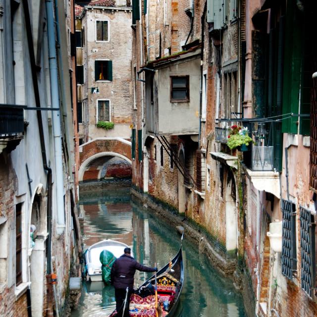 """Winter in Venice, Italy"" stock image"